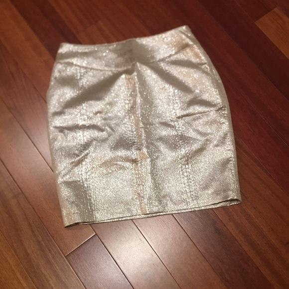 Forever 21 jacquard like skirt size XS